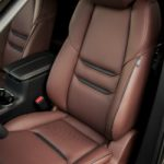 auburn nappa leateher seats in the 2016 mazda cx-9