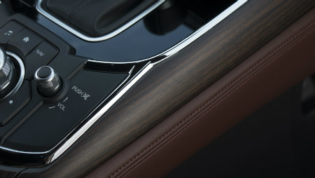 rosewood trim in the 2016 mazda cx-9 signature trim level
