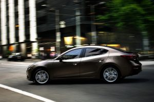 The 2014 Mazda3 comes with Skyactiv technology. Schedule a test drive today at Mazda of Lodi.