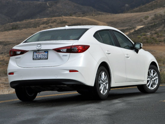 2014 Mazda3 Car of the Year2014 Mazda 3 White