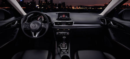 2016 Mazda 3 Pricing and Trim Levels 2016 mazda 3 features touchscreen mazda connect seating material
