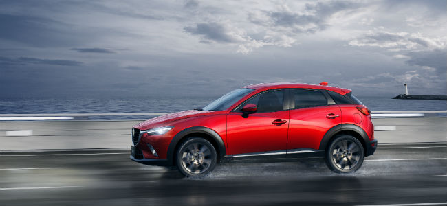 How Does i-ACTIV AWD Work in the 2016 Mazda CX-3?