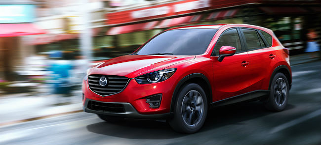 2016 Mazda CX-5 Exterior Color Options