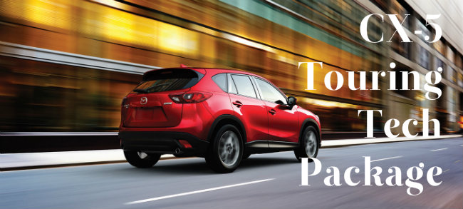 What Is Included In 2016 Mazda CX-5 Touring Tech Package