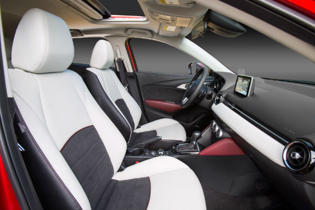 2016 Mazda CX-3 Pricing and Release Date seatings surfaces leather passenger volume cargo room space