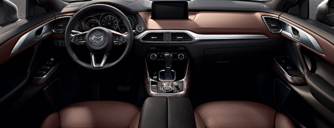 new design features in the 2016 Mazda cx-9 interior