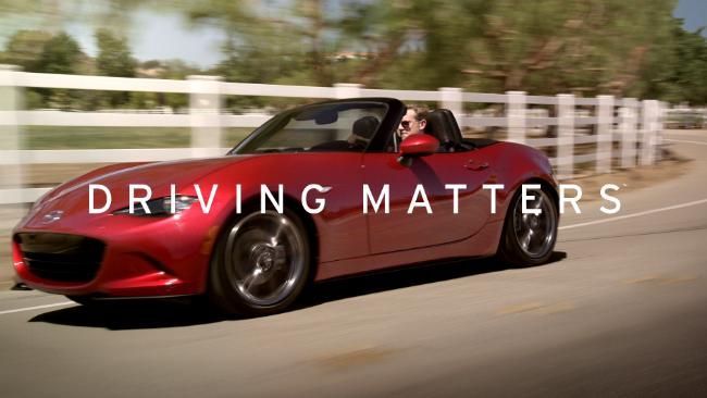 Mazda New Slogan Commercial Driving Matters