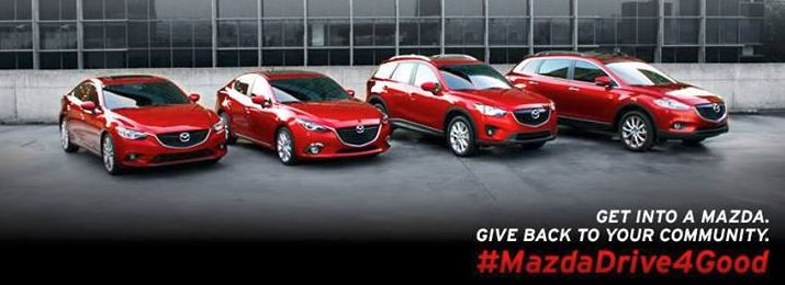 Mazda supports great causes this season.