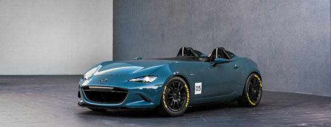 2016 Mazda MX-5 Miata Speedster concept features and specs