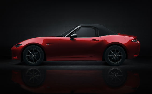 2016 Mazda MX-5 Miata Color Options new colors soul red