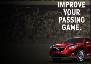 Mazda is the sponsor of Thursday Night Football Storylines on the NFL network.