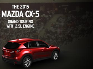 The Mazda CX-5 is the perfect vehicle to get you to the game.