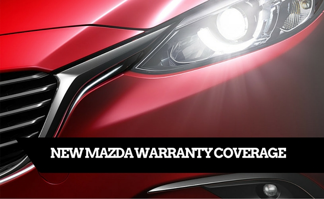 what is covered under a new mazda warranty