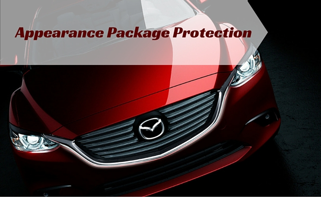 what is mazda appearance package protection