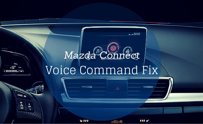 fix for mazda connect bluetooth phone call voice commands not working