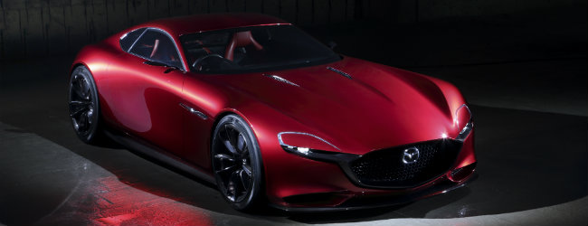 mazda rx-vision concept exterior design features and grille design