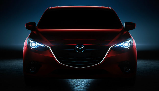 2016 mazda 3 hatchhback 5-door with led headlights