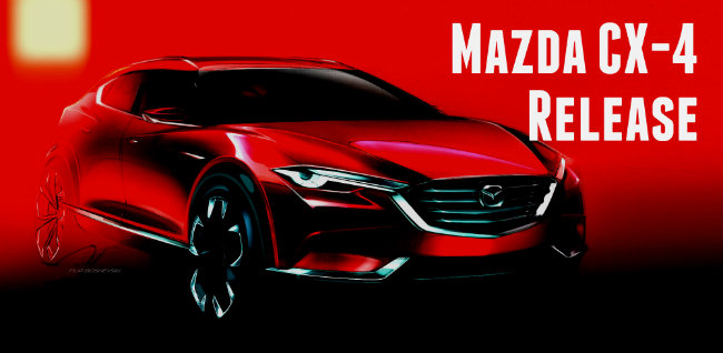 new mazda cx-4 crossover official release
