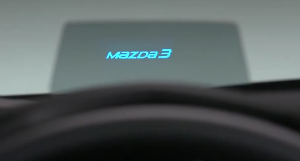 The Mazda Active Driving Display is a very useless edition to the Mazda3.