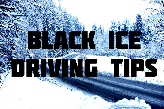 How to Spot Black Ice black ice driving tips