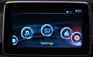 The Mazda Connect infotainment center is also a great tech feature in the Mazda 3.
