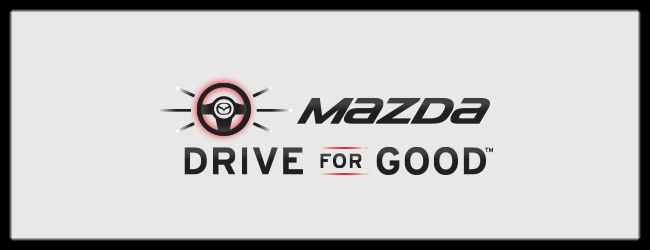 Mazda Drive for Good 2015 what is mazda drive for good