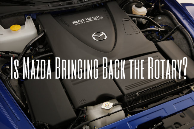 Will Mazda Bring Back the Rotary Engine