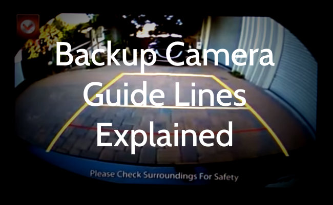 Guide Lines on Mazda Backup Camera Explained