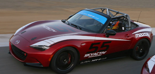 Attractive 2016 Mazda MX 5 Cup Race Car Exterior Design And Features