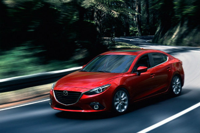 The Mazda3 has many great tech features.