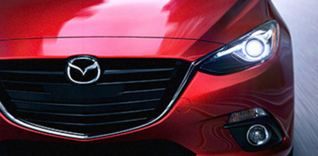 Mazda is developing adaptive LED headlights.