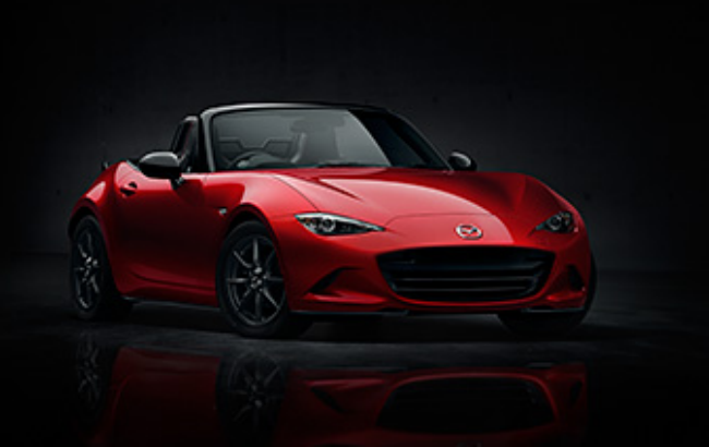 Here's the first look at the 2016 Mazda Miata.