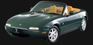 This is second generation of the Mazda Miata.