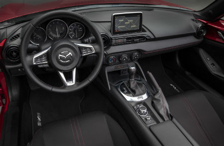 What's New for the 2016 Mazda MX-5 Miata standard features new features mazda connect
