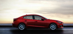 The 2015 Mazda 3 is a sleek and stylish compact car.