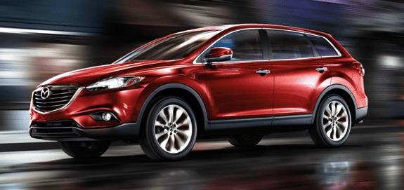 red front mazda cx-9