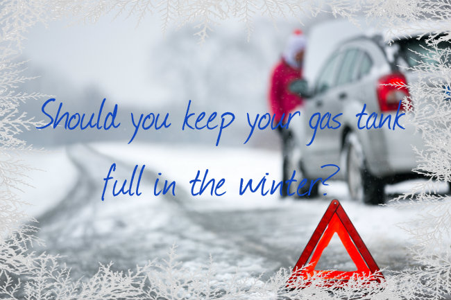 Should You Keep Your Gas Tank Half Full in Winter?