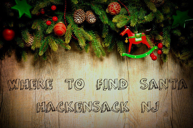 Where to See Santa Hackensack NJ