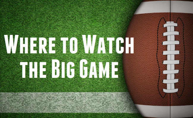 Places to Watch Super Bowl 50 in Northern NJ