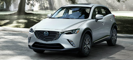 white paint color on 2016 mazda cx-3