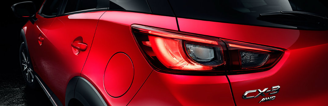 2016 mazda cx-3 rear hatch taillight design