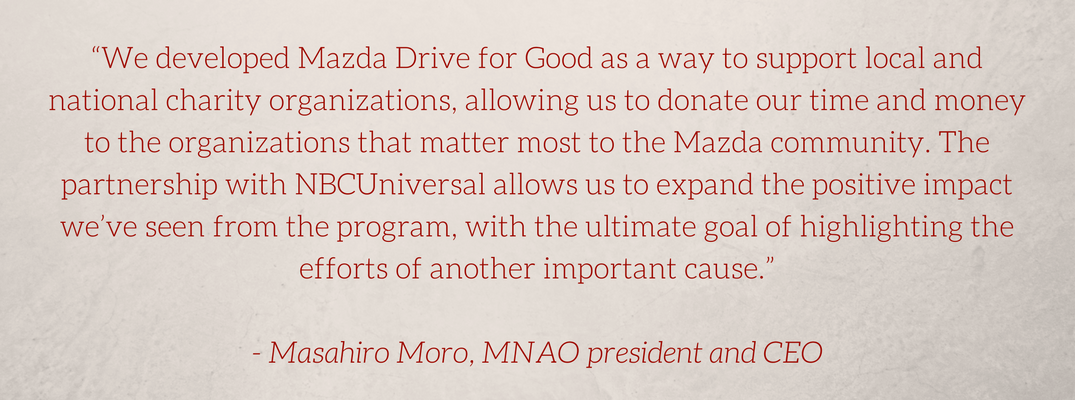 mazda drive for good quote
