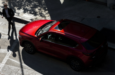 2017 mazda cx-5 roof design with sunroof