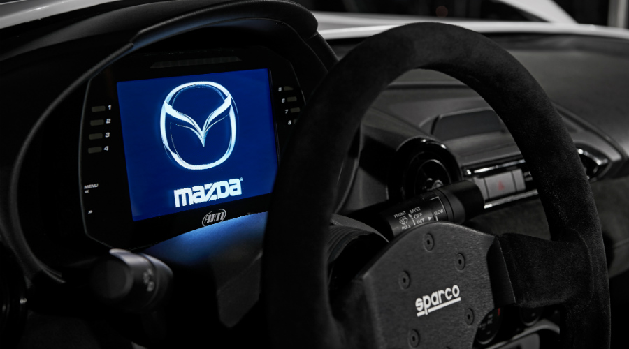 mx-5 rf kuro instrument gauge digital display