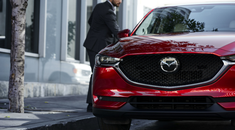 new grille design on mazda cx-5