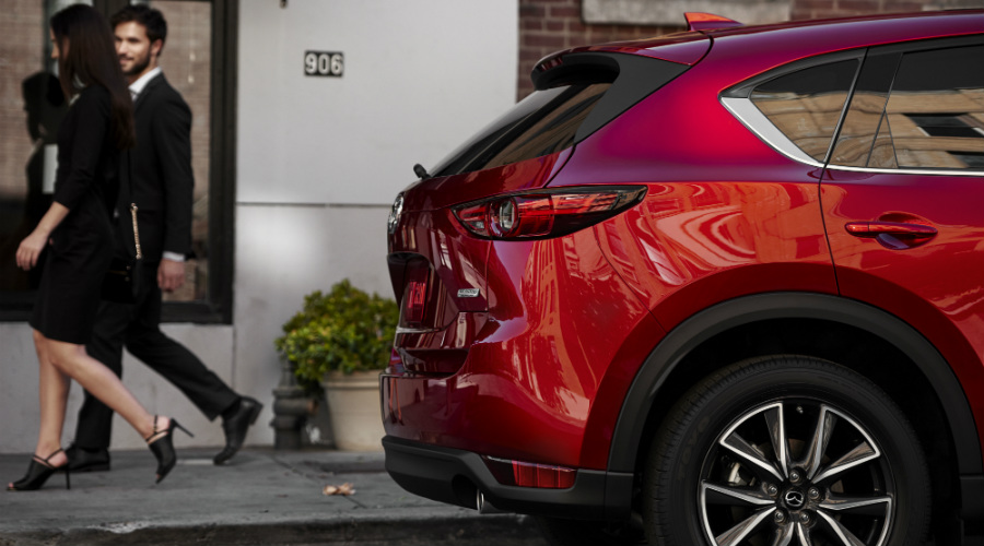 rear bumper on 2017 mazda cx-5