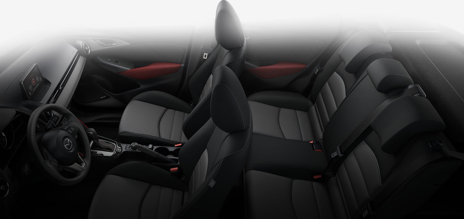 Which colors does the 2017 mazda cx 3 come in for Mazda cx 3 interieur