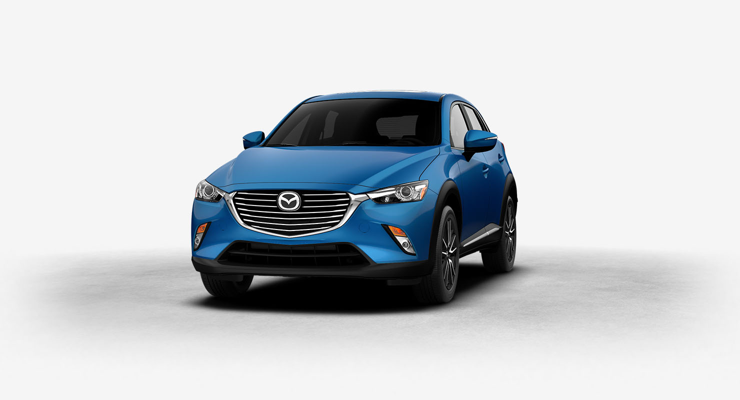 2017 Mazda CX-3 Dynamic Blue Mica