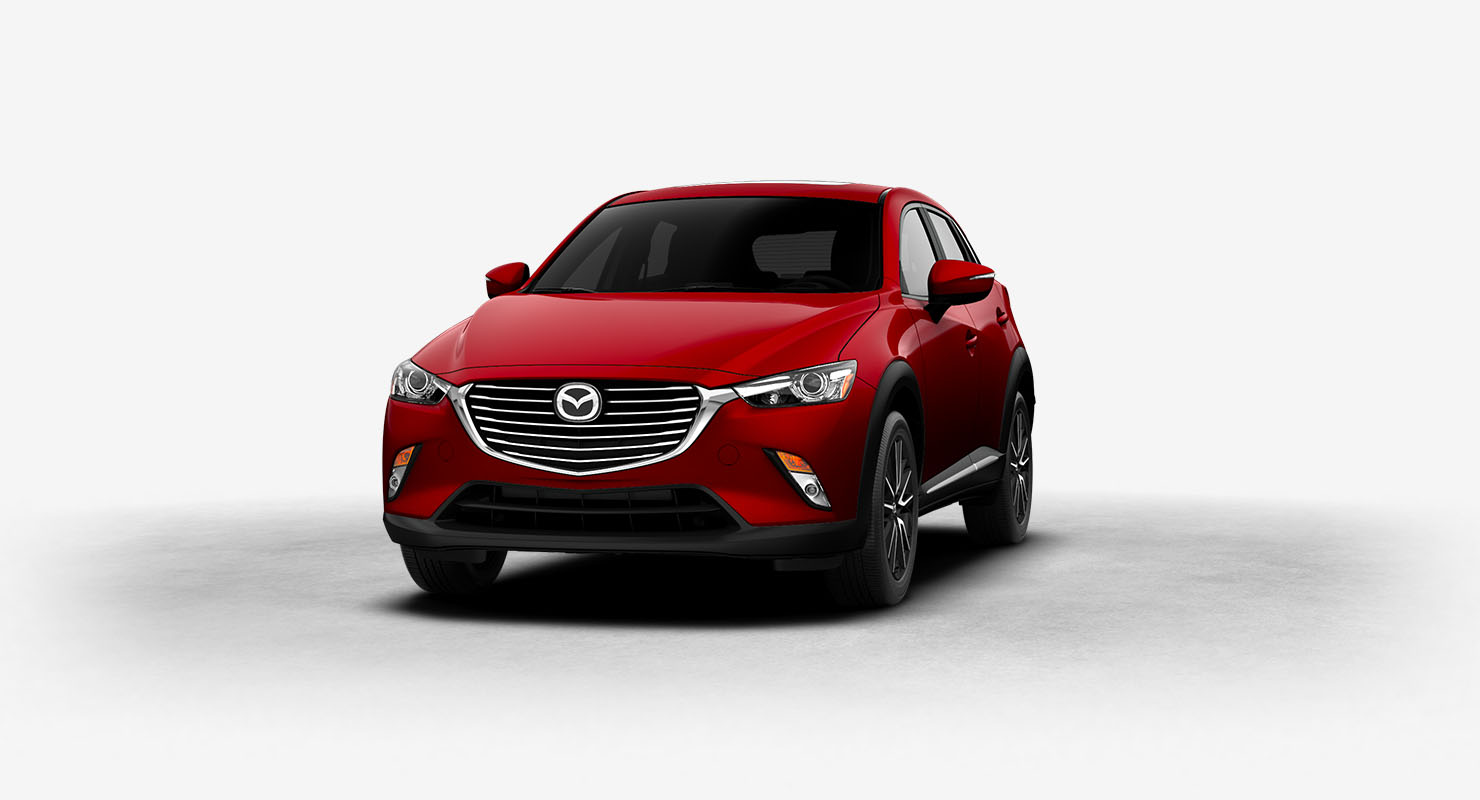 2017 Mazda CX-3 Soul Red Metallic