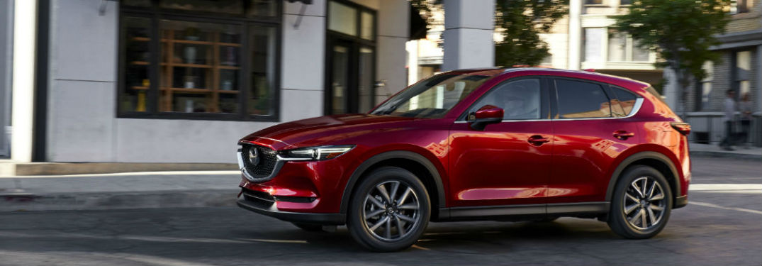 2017 Mazda CX-5 Fuel Efficiency and Driving Range
